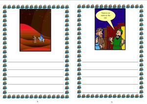 Nativity Sequencing Cards