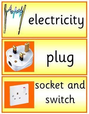 Electricity Vocabulary Worksheet - Best Worksheet