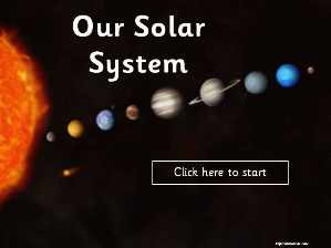 ... the topic of our Solar System. Includes action buttons and animation