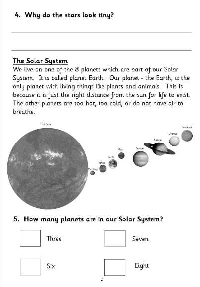 essay questions about the solar system for kids Gravity slowly gathered this gas and dust together into clumps that became  asteroids and small early planets called planetesimals these objects collided.