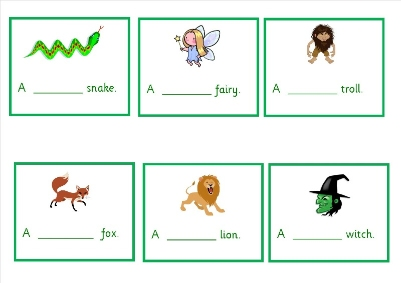 Adjectives in Stories 3