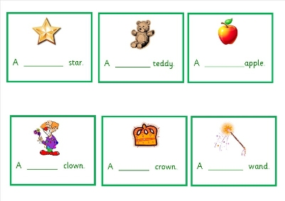 Adjective Prompt Cards - Children can use these cards as a prompt to ...
