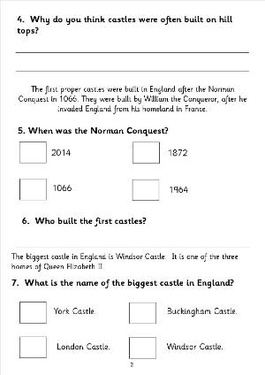 ks2 english comprehension sats papers