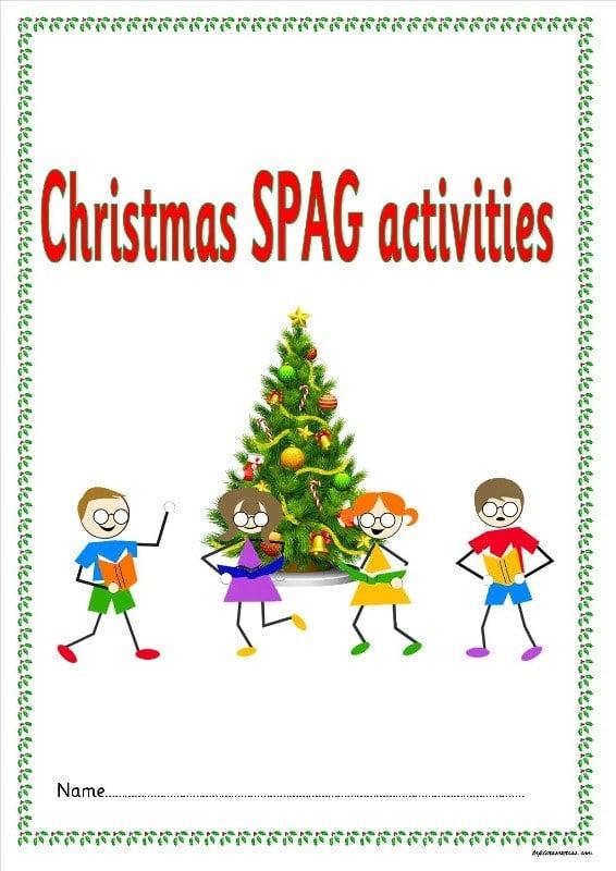 KS1 KS2 SEN IPC christmas SPAG activity booklets guided