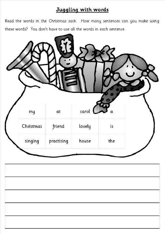 Ks1 Ks2 Sen Ipc Christmas Spag Activity Booklets Guided. Christmas Spag Booklet1 Booklet2. Worksheet. Literacy Worksheets Year 2 At Clickcart.co