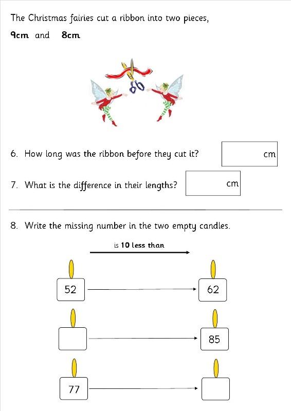 eyfs ks1 ks2 sen christmas maths sats worksheets teaching resources. Black Bedroom Furniture Sets. Home Design Ideas