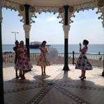 The Spinettes Behind The Scenes Brighton Photoshoot 4