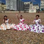 The Spinettes Behind The Scenes Brighton Photoshoot 6