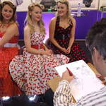 The Spinettes Behind The Scenes NEC 2