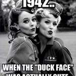 The Spinettes Beind The Scenes The Famous Duck Face
