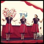 The Spinettes Perform for Total Greek Yogurt as The Yummettes