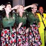 The Spinettes Performance with The Jive Aces 3