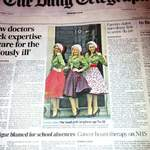 The Spinettes Photoshoot Daily Telegraph