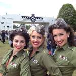 The Spinettes Photoshoot Goodwood 3
