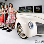 The Spinettes Photoshoot London Motor Museum 4