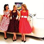 The Spinettes Photoshoot London Motor Museum 6