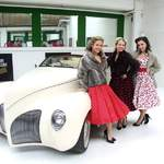 The Spinettes Photoshoot London Motor Museum 7