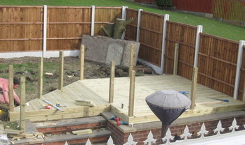 Decking stage 1