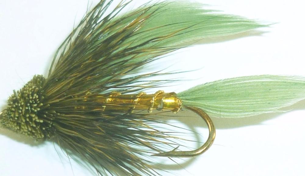 Muddler- Traditional - Olive