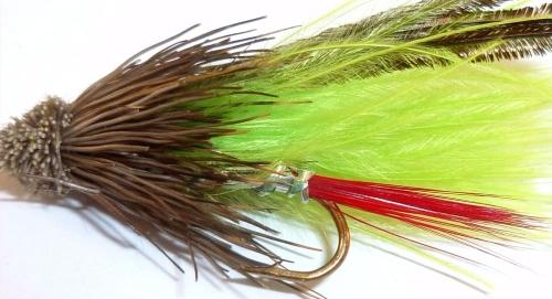 Muddler -Marabou Chartreuse
