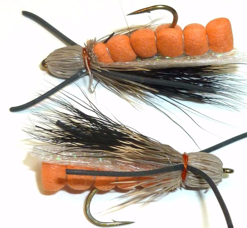 Hopper - X Hair Orange foam [HOP 35]