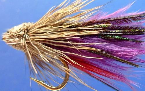 Muddler -Marabou Purple