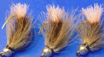 Grayling fly ,Brown squirrel and Pink # 12  [GR 1]