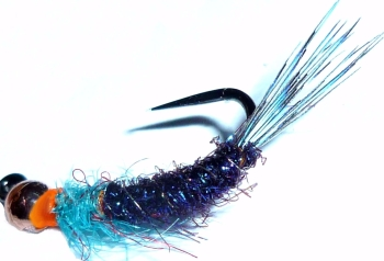 Grayling fly, Blue # 12, Tungsten  [GR8]