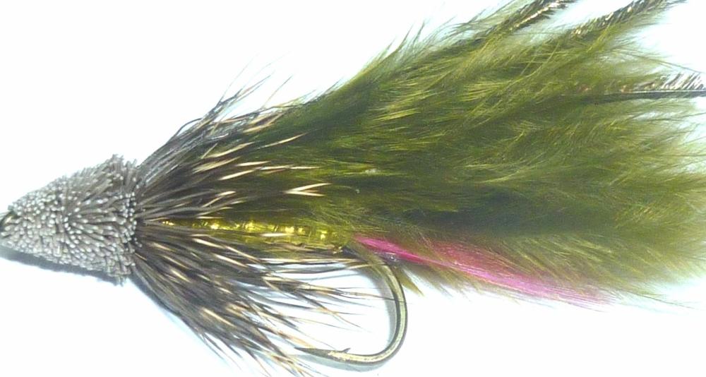 Muddler -Marabou Olive