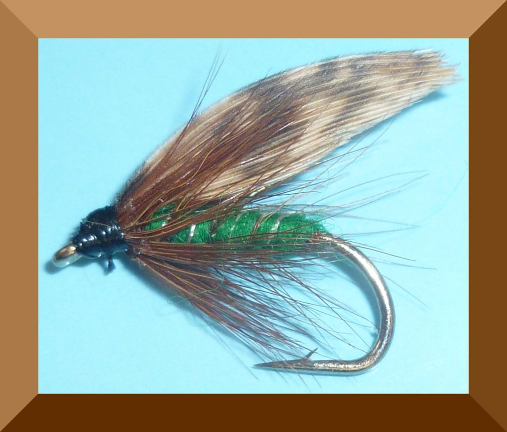 Green Peter,wet fly  (W 29)