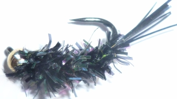 Grayling fly,Black fritz, Tungsten  [GR11]