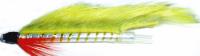 Tube fly ,Chartreuse Zonker,Aluminium  [45mm] [TU 8]