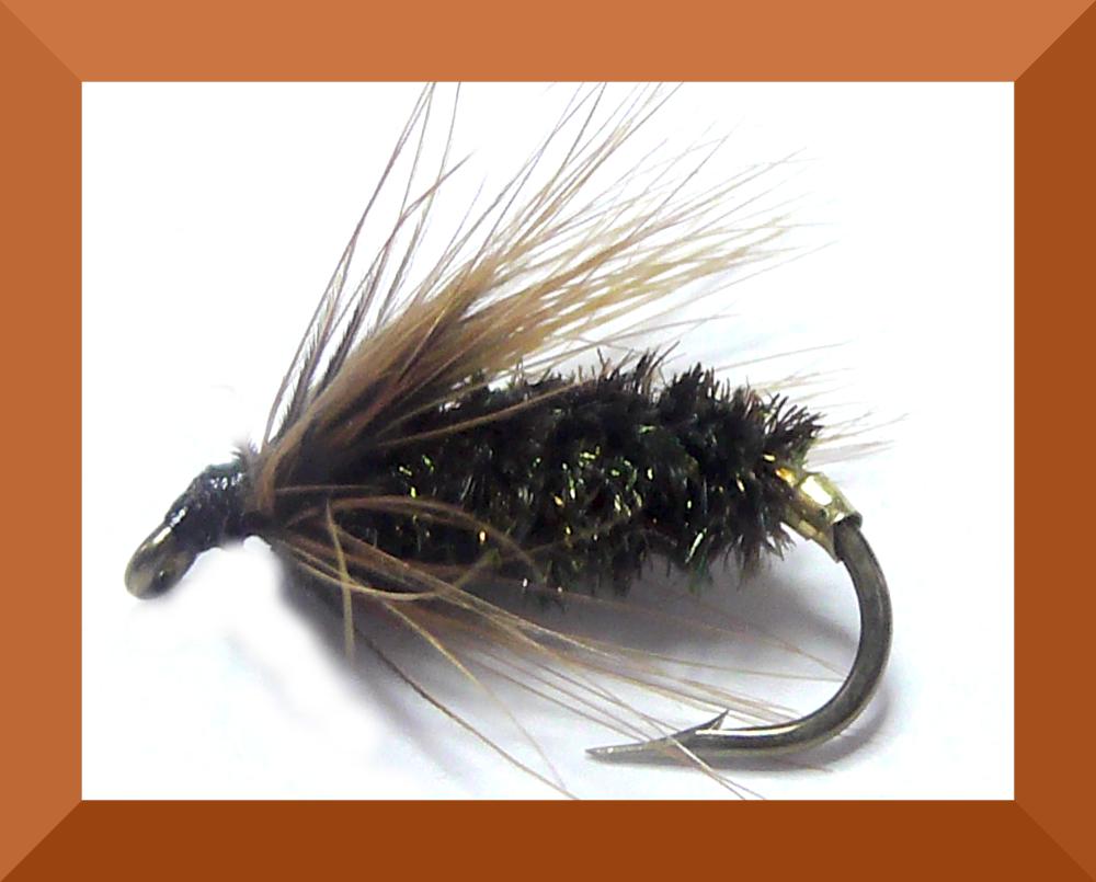Coch-Y-Bondhu,wet fly #14 (W38)