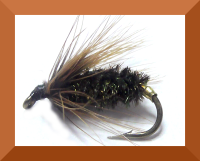 Coch-Y-Bondhu,wet fly #14 (W38)