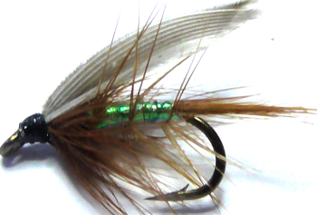 Pearly Wickham's Fancy,wet fly  (W 39)