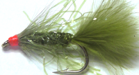Damsel -Olive  staggle, Size 12  [D 34]