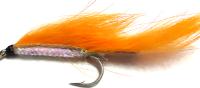 zonker -  Orange and Pearl  mylar /Z 26