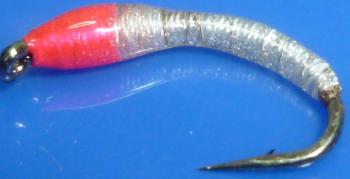 Okey Dokey ,white- Pink ,Silver wire  #12 [OD11]