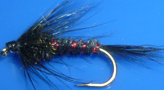 Cruncher,Black With Holographic Red Rib   #10[CR14]