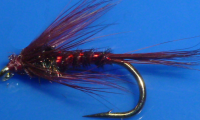 Cruncher,Claret  With Holographic Red Rib #12 [CR17]
