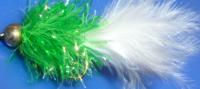 Gold head fritz Green/White  [F2]