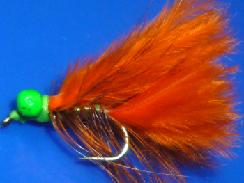 Cats whisker,Orange/Green Head #12 [CAT23]