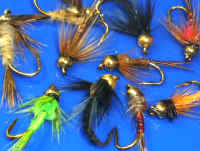 Nymph's,10 x Trout flies, Assorted patterns,