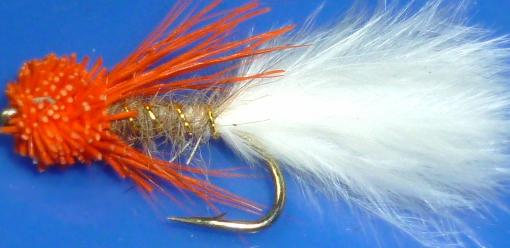 Muddler-Orange /White [MUD21]