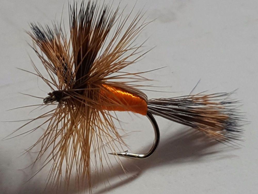 Humpy Orange  #10/DR 61