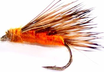 Sedge-hog,  Orange #14 [H 12]