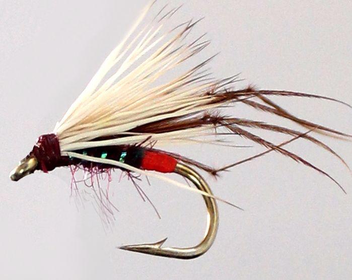 Hopper - Deer hair,Claret / Orange Tag [HOP 38]