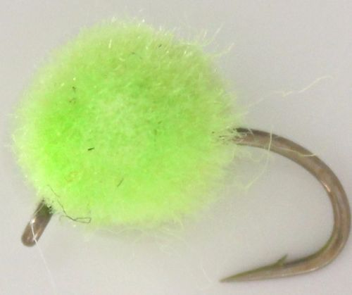 Egg Fly - Chartreuse - Unweighted /E27