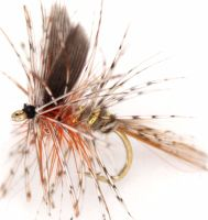 March brown  Dry fly #12 /DR 45