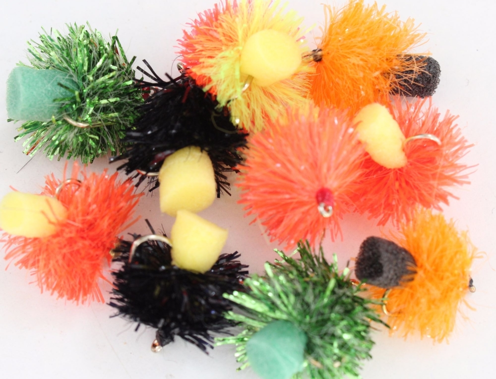 Fabs,10 x Trout flies, Assorted patterns,
